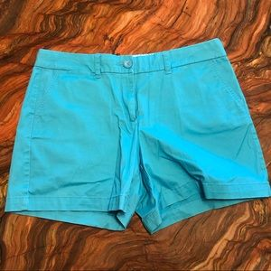 Crown & Ivy turquoise shorts